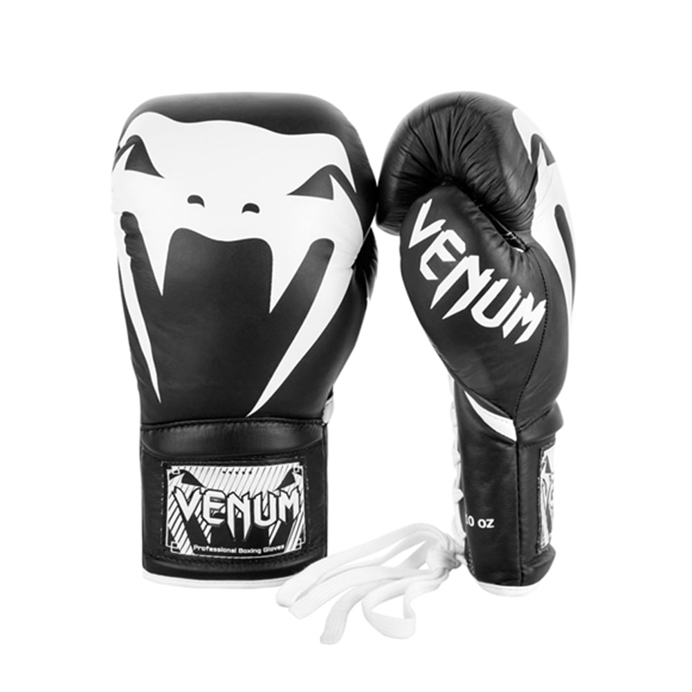 베넘 자이언트 프로 복싱글러브 양가죽( Nappa Leather ) - 블랙/화이트Venum Giant 2.0 Pro Boxing Gloves Black/White SIZE 12Oz - VENUM-03236-108-12oz